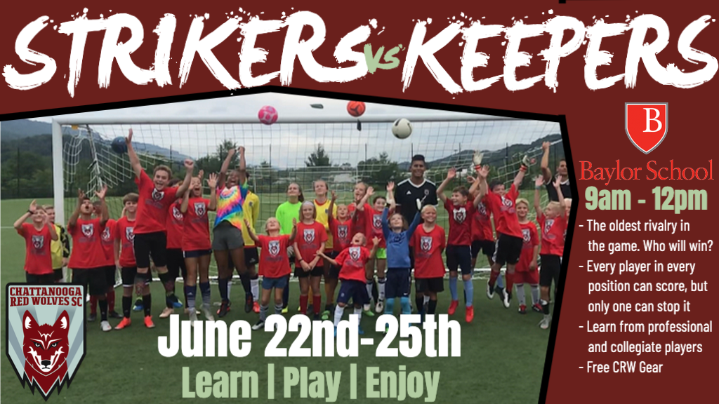 Strikers vs Keepers Camp
